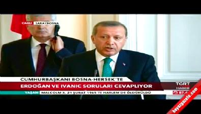 Erdoğan: Mısır'ın Cumhurbaşkanı Mursi'dir