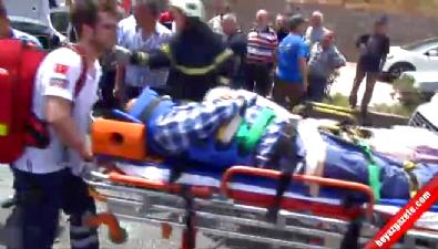 Manisa'da iki araç kafa kafaya girdi: 8 yaralı