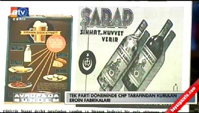 CHP tarafından yapılan alkollü reklam afişleri