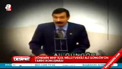 abdullah ocalan - MHP'li Ali Güngör'den tarihi konuşma