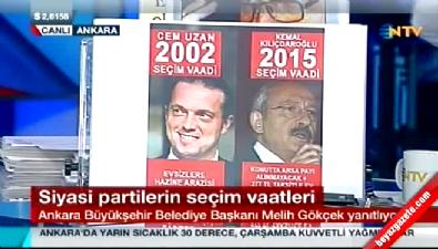 Cem Uzan ve Kemal Kılıçdaroğlu'nun vaatlerdeki ilginç benzerliği