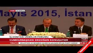 B20 Türkiye İş Dünyası Liderleri Forumu Cumhurbaşkanı Erdoğan'ın katılımıyla başladı