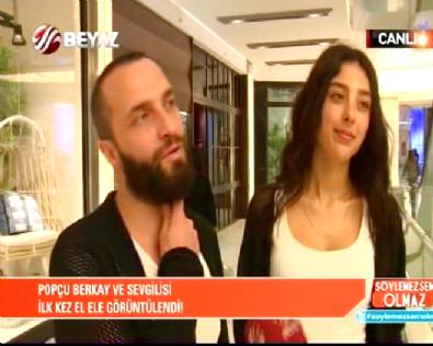 Popçu Berkay Asena Erkin'den Sonra Sevgilisi İle İlk Kez Görüntülendi