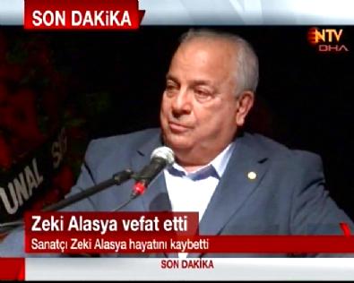 Zeki Alasya 72 Yaşında Hayatını Kaybetti / Zeki Alasya Öldü