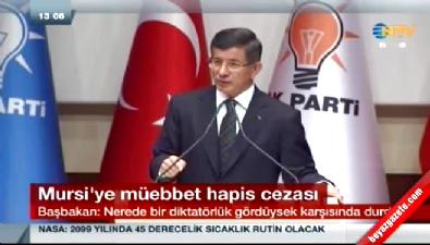 Davutoğlu'nun AK Parti grup toplantısı konuşması