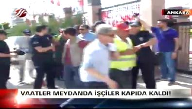 CHP'li belediyenin taşeron işçileri isyan etti
