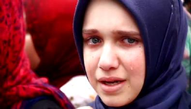 Cumhurbaşkanı Erdoğan okudu, o gözyaşı döktü