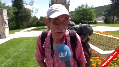16 yılda Türkiye'nin 78 ilini yürüyerek gezdi