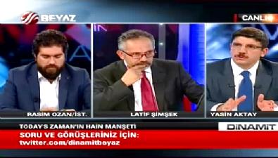 Yasin Aktay: Bu manşeti atmak DAEŞ'le işbirliğidir