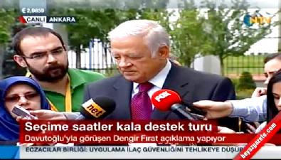 Dengir Fırat'tan MHP'ye: Kendileri kadar vekil almamızı hazmedemiyorlar