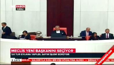 Meclis'te ilk tur tamamlandı