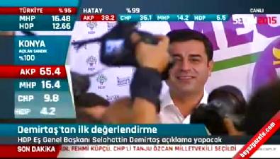 HDP'nin barajı geçmesi ardından Demirtaş'tan ilk açıklama