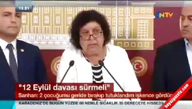 CHP'li vekil Şenal Sarıhan hüngür hüngür ağladı