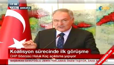 AK Parti - CHP görüşmesi sonrası Haluk Koç'tan açıklama