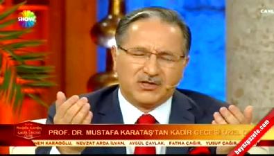Mustafa Karataş hem ağladı, hem ağlattı