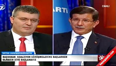 Ahmet Davutoğlu: Millete saygısızlık etmem