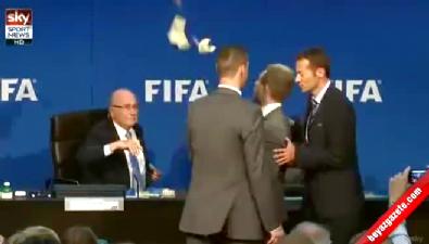 FIFA başkanına şok