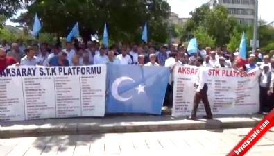 Türkiye Doğu Türkistan için sokaklara indi