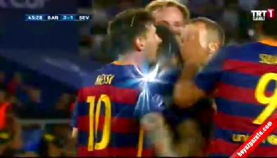Barcelona: 3 Sevilla: 1 (Gol: Rafinha) UEFA Süper Kupa finali