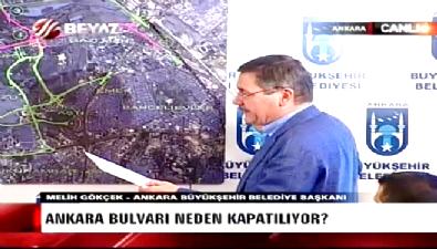 Melih Gökçek, harita üzerinden anlattı: Ankara'yı bekleyen felaket senaryosu