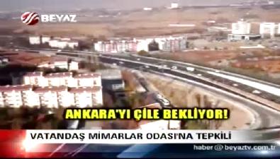 Vatandaşlardan Mimarlar Odası'na Ankara Bulvarı tepkisi