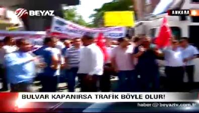 Ankara Bulvarı'nın kapatılması kararına tepkiler artıyor