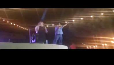 CHP'li belediye başkanı kadın sunucuyu itti