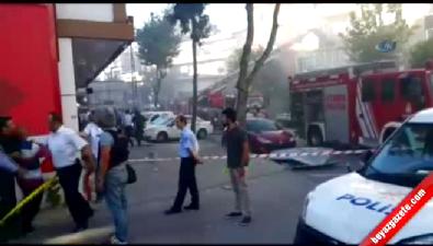 Gaziosmanpaşa Küçükköy'de doğalgaz patlaması