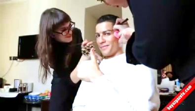 Cristiano Ronaldo'yu hiç böyle görmediniz