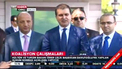 Ömer Çelik: Başbakan ve Kılıçdaroğlu görüşecek