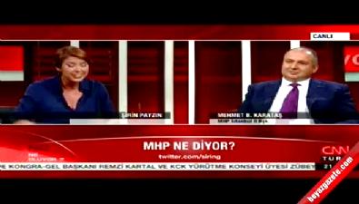 Mehmet Bülent Karataş ve Şirin Payzın arasında saz polemiği