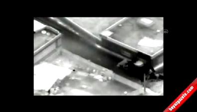 Cizre'deki terör operasyonu kamerada