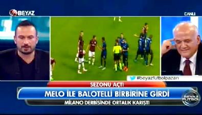 Felipe Melo ve Mario Balotelli arasında gerginlik