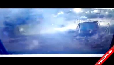 Polisi hedef aldı kendini vurdu