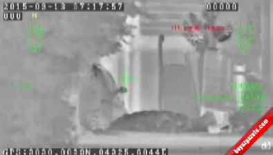 Van'da Teröristlerin Vurulma Anı Kamerada