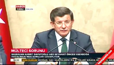 Başbakan Davutoğlu : Filistin bayrağını göndere çekeceğiz