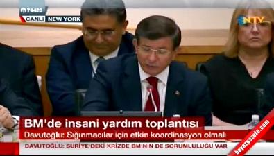 Başbakan Davutoğlu: G-Herkes zirvesi yapmamız lazım