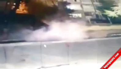 PKK'lının bomba elinde patladı