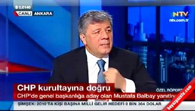 Mustafa Balbay'dan delegelere baskı var iddiası