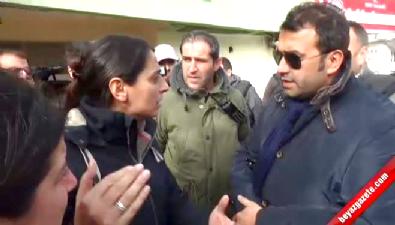 HDP'li Feleknas Uca: Milletvekiline saygılı olun