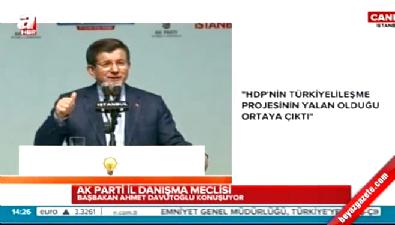 Başbakan Davutoğlu'ndan Kılıçdaroğlu'na sert sözler