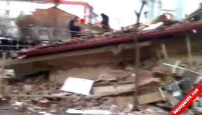 Yozgat'ta 20 daireli bina çöktü
