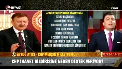 aytug atici - Gökçek: Atatürk'le ilgili bildiri yayınlasalar özgürlük diyecek misiniz?