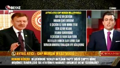 aytug atici - CHP'li Aytuğ Süheyl Batum sorusunu geçiştirdi