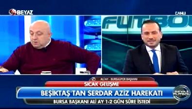 Bursaspor Başkanı'ndan Serdar Aziz açıklaması