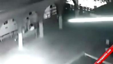 14 yaşındaki çocuğun vurulma anı