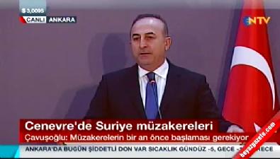 Bakan Çavuşoğlu: YPG çok istiyorsa rejim heyetinde yer alabilir