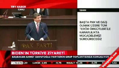 Başbakan Davutoğlu: YPG ve PYD'nin masaya oturmasına karşıyız