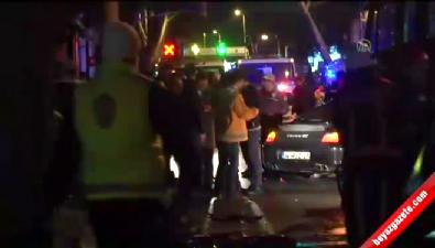 Araçın çarptığı trafik polisi vefat etti