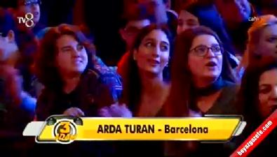barcelona - 3 Adam'dan Arda Turan'a sürpriz doğum günü